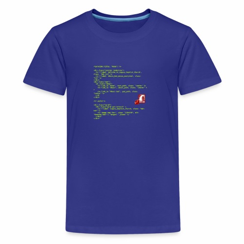 RoR Code 1 - Kids' Premium T-Shirt