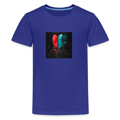 Heart tshirt - Kids' Premium T-Shirt