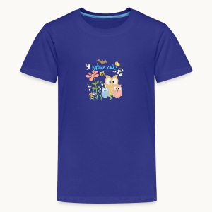 NATURE ROCKS CHILDREN Carolyn Sandstrom THR - Kids' Premium T-Shirt