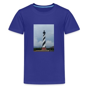 Cape Hatteras Lighthouse - Kids' Premium T-Shirt