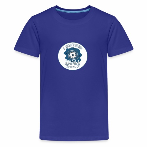 I survived Hurricane Irma 2017 - Kids' Premium T-Shirt