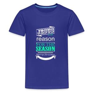 Jesus is the reason - Kids' Premium T-Shirt