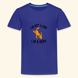 funny dog - Kids' Premium T-Shirt