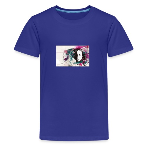 devushka portrait - Kids' Premium T-Shirt