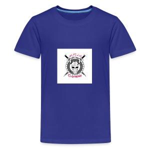 Skull sheild - Kids' Premium T-Shirt