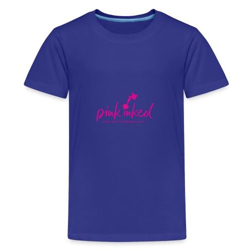 Pink_Inked - Kids' Premium T-Shirt