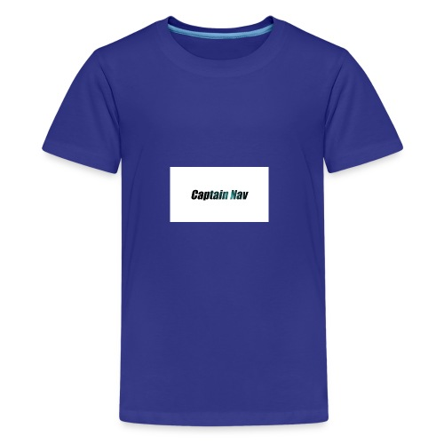 Captain Nav Logo - Kids' Premium T-Shirt