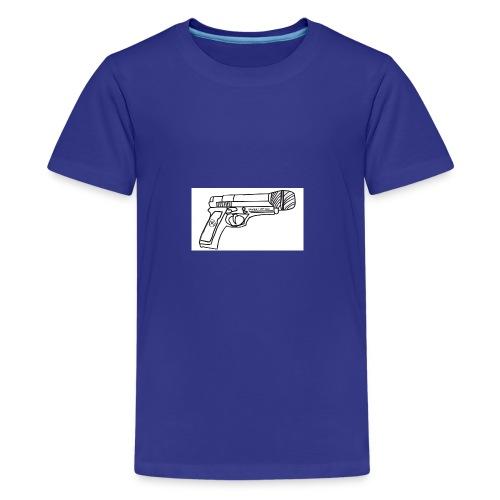 Hot Mic Handgun - Kids' Premium T-Shirt