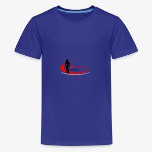 Fit 'n Fierce Athletics full logo - Kids' Premium T-Shirt