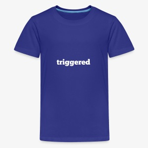 Triggered: Official logo of the Youtube Channel - Kids' Premium T-Shirt
