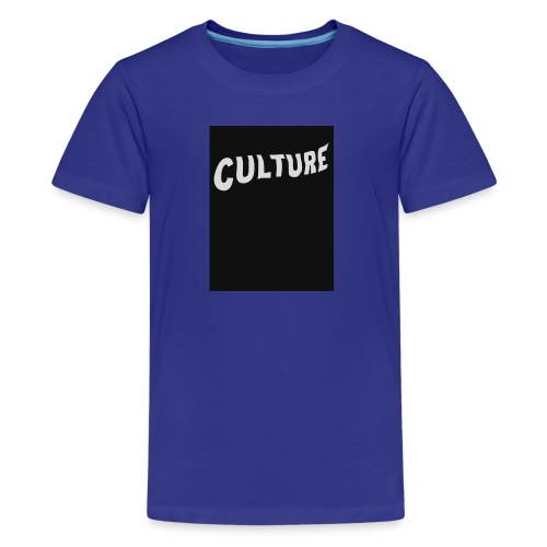 Culture Back - Kids' Premium T-Shirt