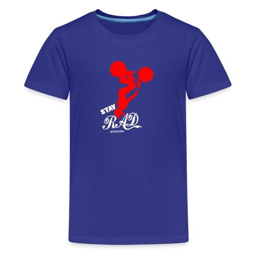 Stay Rad White - Kids' Premium T-Shirt