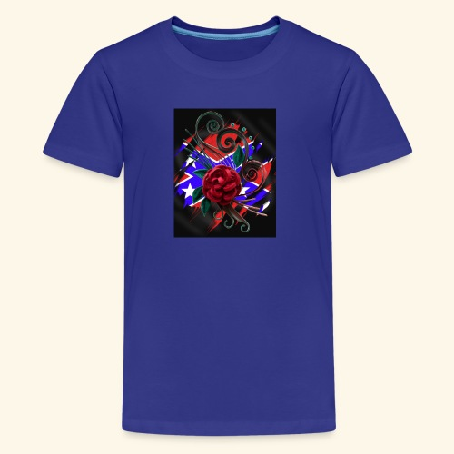 rebel roses - Kids' Premium T-Shirt