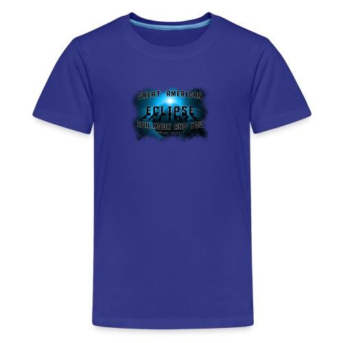 Total Solar Eclipse Summer August 21st 2017 - Kids' Premium T-Shirt