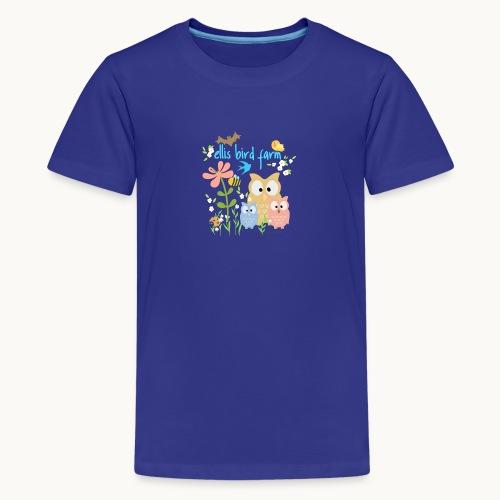 NATURE - Ellis Bird Farm - Carolyn Sandstrom - Kids' Premium T-Shirt