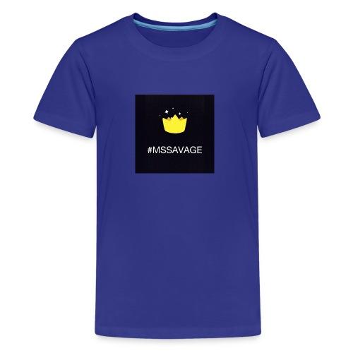 #MSSAVAGE merch - Kids' Premium T-Shirt