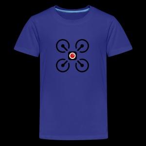 Drone Art Logo Black - Kids' Premium T-Shirt