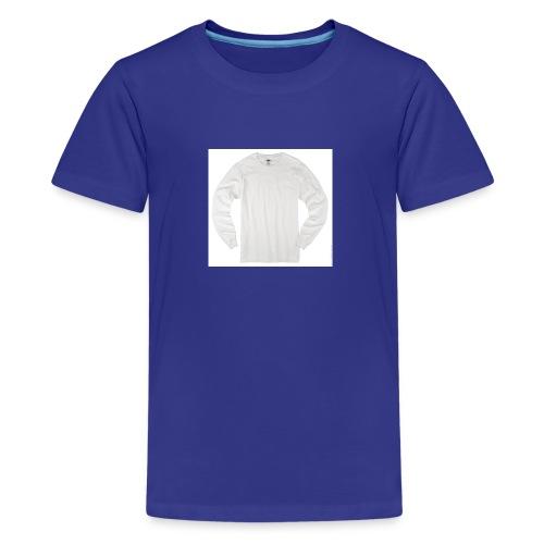 ALL WHITE - Kids' Premium T-Shirt