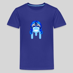 ALIENS WITH WIGS - #TeamMu - Kids' Premium T-Shirt