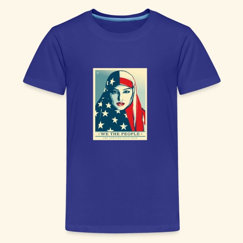 We the people are greater than fear - Kids' Premium T-Shirt