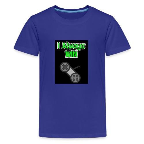 I always win - Kids' Premium T-Shirt