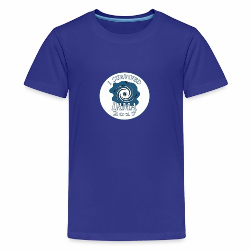 I survived Hurricane Irma 2017 - Kids' Premium T-Shirt