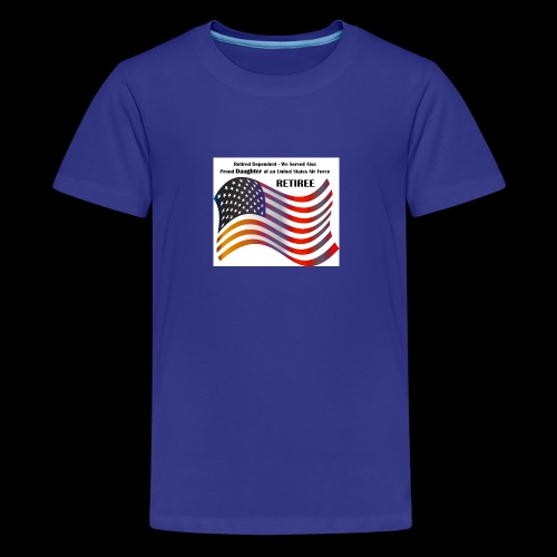 retired Military Dependents - Kids' Premium T-Shirt