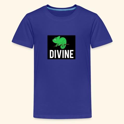 DIVINE - LIZARD DIVINE LETTERING - Kids' Premium T-Shirt