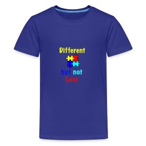 Autism - Different but Not Less - Kids' Premium T-Shirt