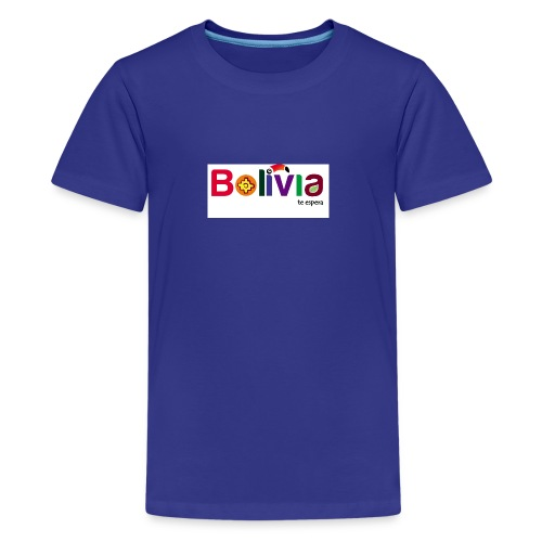 Bolivia te espera - Kids' Premium T-Shirt
