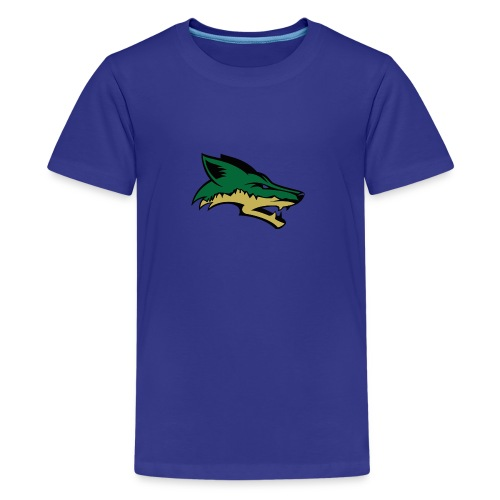 Skyline Coyote - Kids' Premium T-Shirt