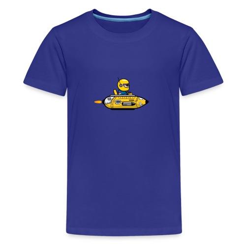 Yellow space marine - Kids' Premium T-Shirt