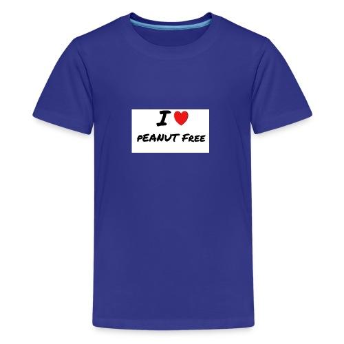 I LOVE PEANUT FREE - Kids' Premium T-Shirt