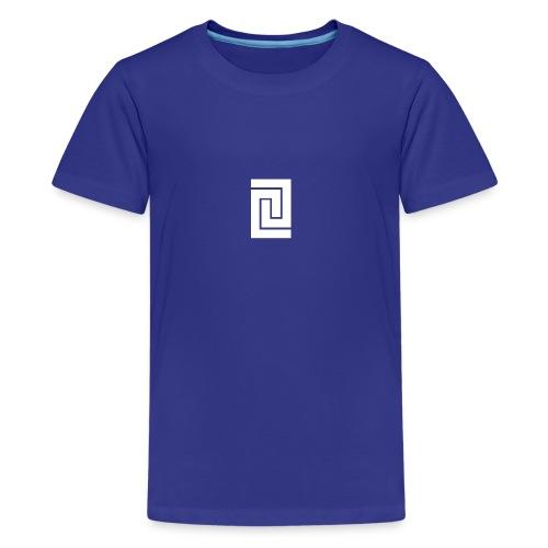 PlainWhiteLogo - Kids' Premium T-Shirt