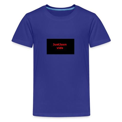 JustJaxn vids Hoodie - Kids' Premium T-Shirt