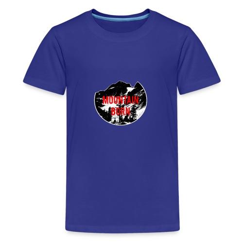 Mountain Born - Kids' Premium T-Shirt