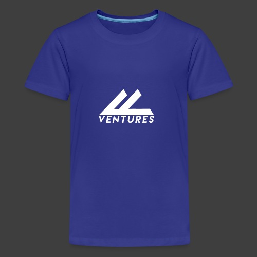 Vanity Ventures White Logo - Kids' Premium T-Shirt