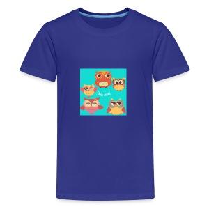 Cute owls - Kids' Premium T-Shirt
