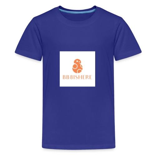bb8ishere logo - Kids' Premium T-Shirt