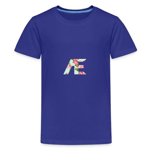 AE Floral design - Kids' Premium T-Shirt