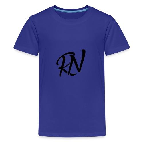 RomanNation Black (RN) - Kids' Premium T-Shirt