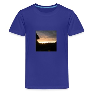 Country side sunset - Kids' Premium T-Shirt