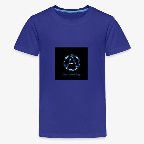 Ora Smokey / Camo Blue - Kids' Premium T-Shirt