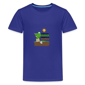 I AM BUT A SIMPLE FARMER TENDING TO MY MEMES - Kids' Premium T-Shirt