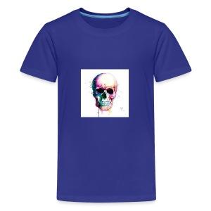 Colourful skull - Kids' Premium T-Shirt