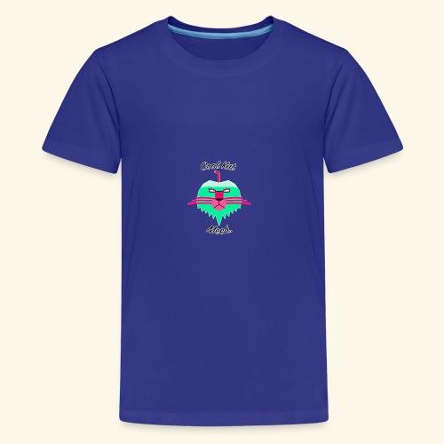 Cool Kat Mech. (Neon Glow) - Kids' Premium T-Shirt