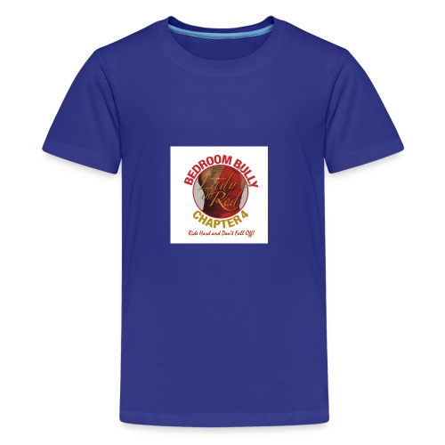 Lady in Red Bedroom Bully - Kids' Premium T-Shirt