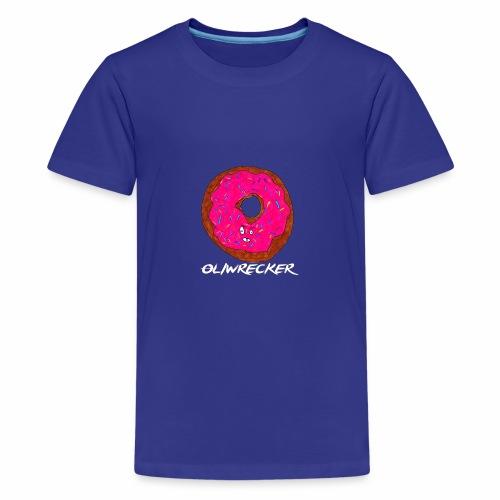 Doughnut Design - Kids' Premium T-Shirt