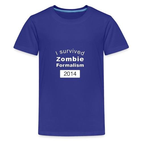 Zombie Formalism 2014 - Kids' Premium T-Shirt