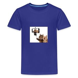 selfi-wallpaper-10928212 - Kids' Premium T-Shirt